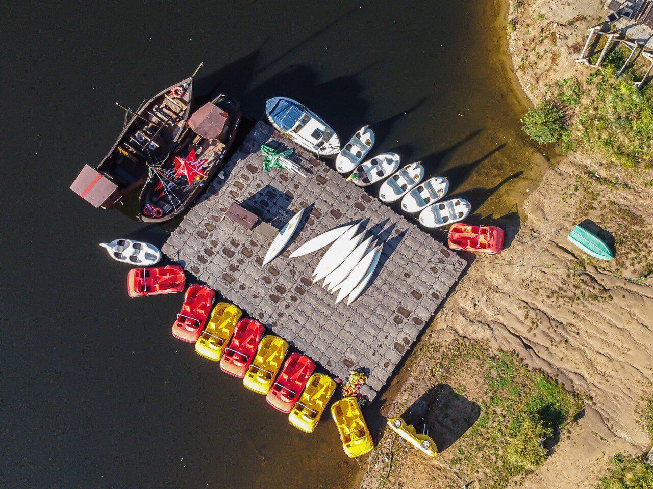 Kajaki jezioro bystrzyckie