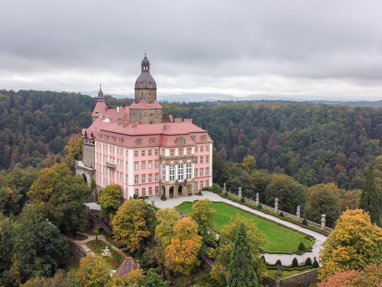 Zamek Książ blog podróżniczy