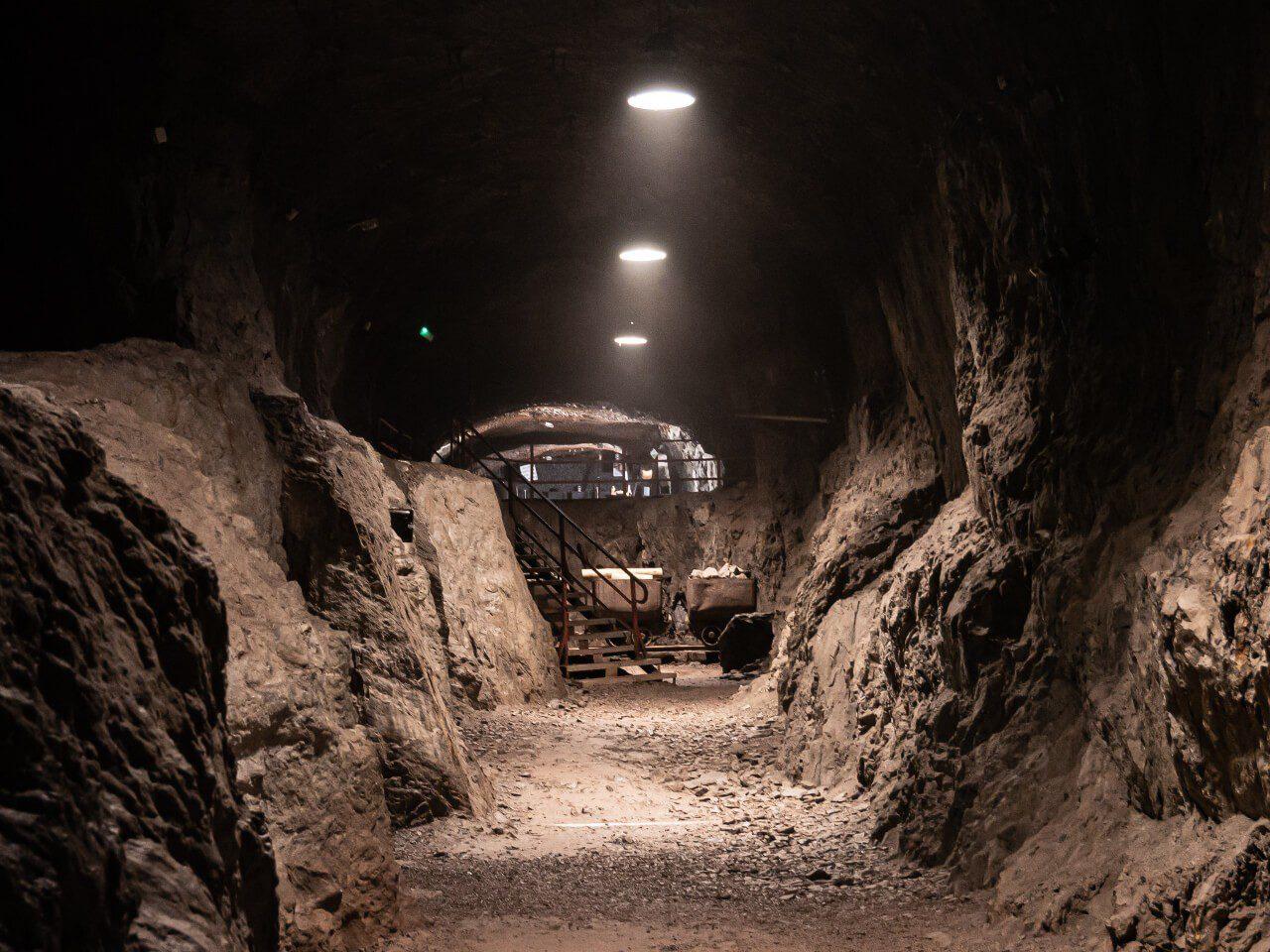 Podziemne Miasto Osówka kompleks Riese