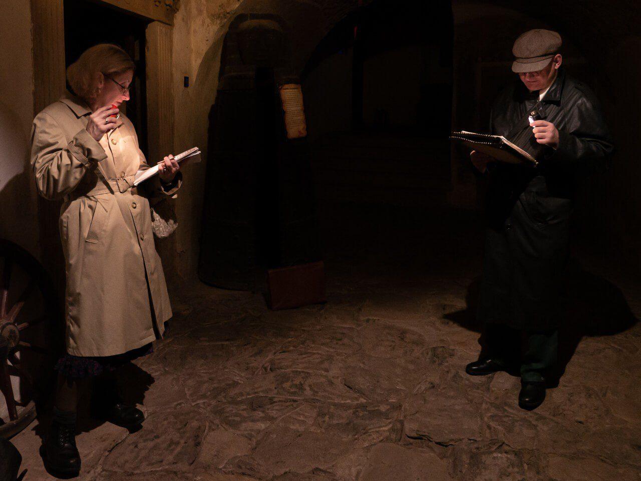 Nocne zwiedzanie Zamek Grodno