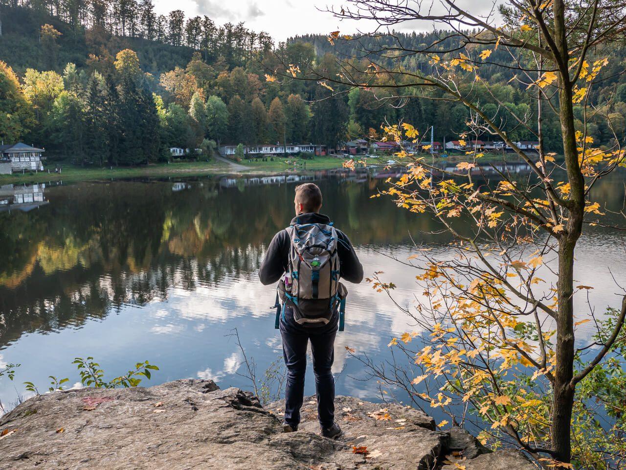 Jezioro Bystrzyckie Bartek Dziwak blog podróżniczy