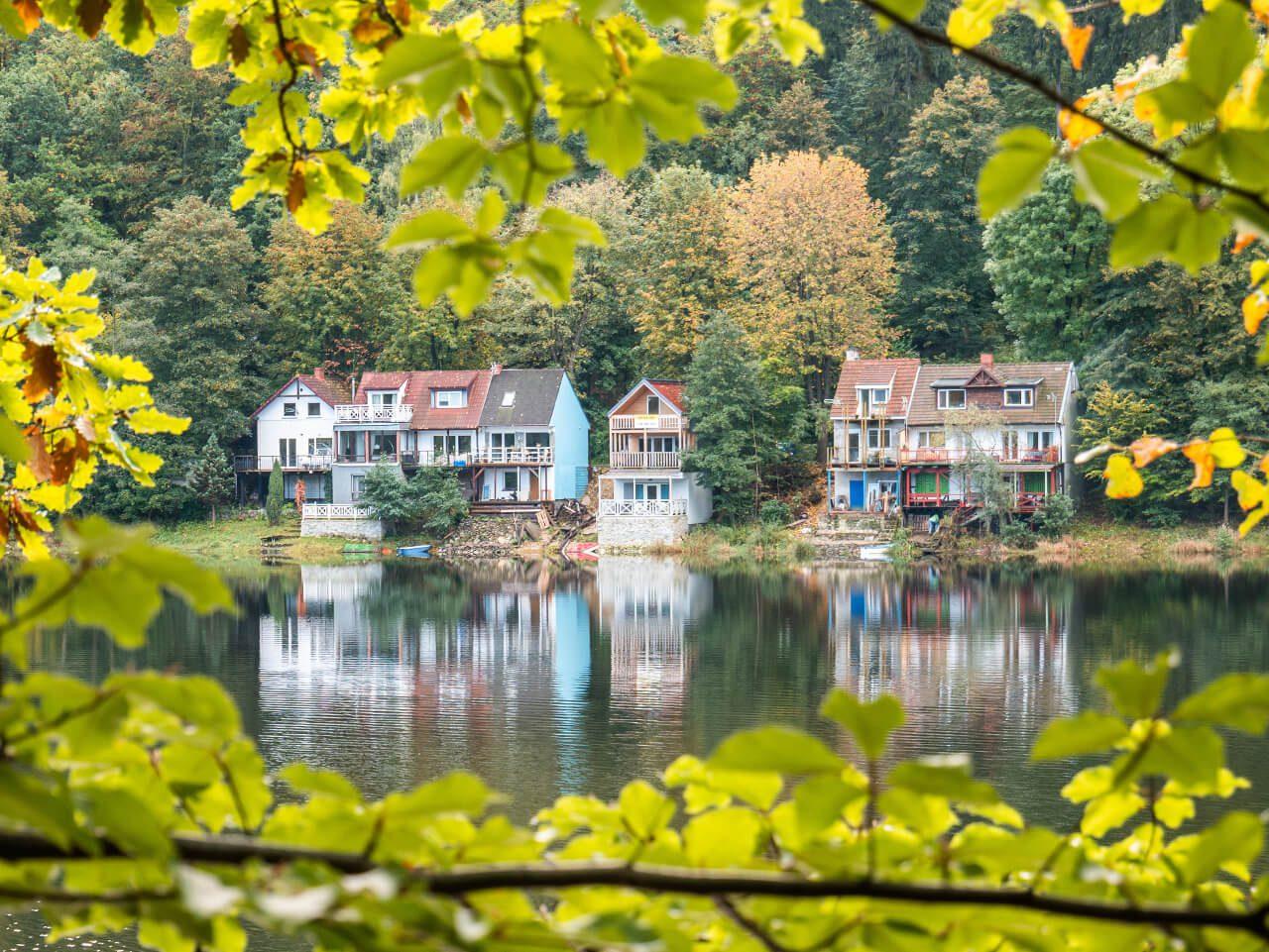 Domki nad Jeziorem Bystrzyckim Zagórze Śląskie