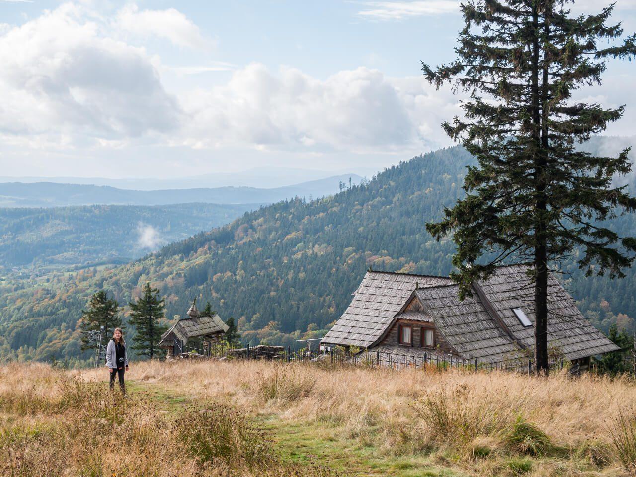 Widoki góry sowie krajobrazy