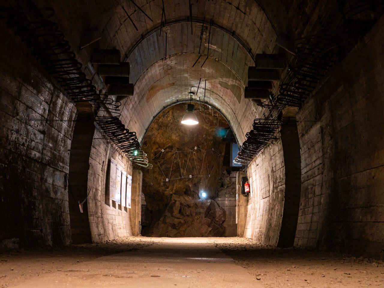 Książ podziemna trasa turystyczna