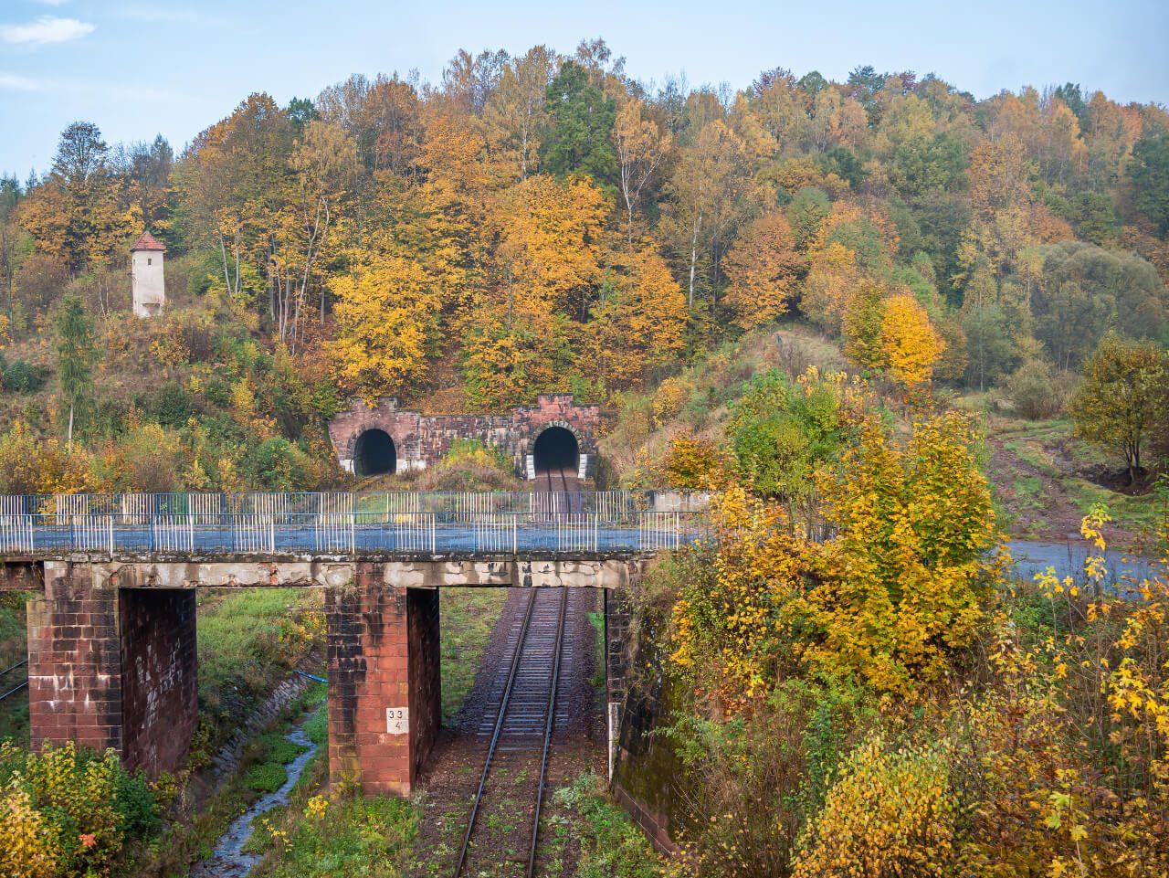 Tunel kolejowy Świerki Dolne