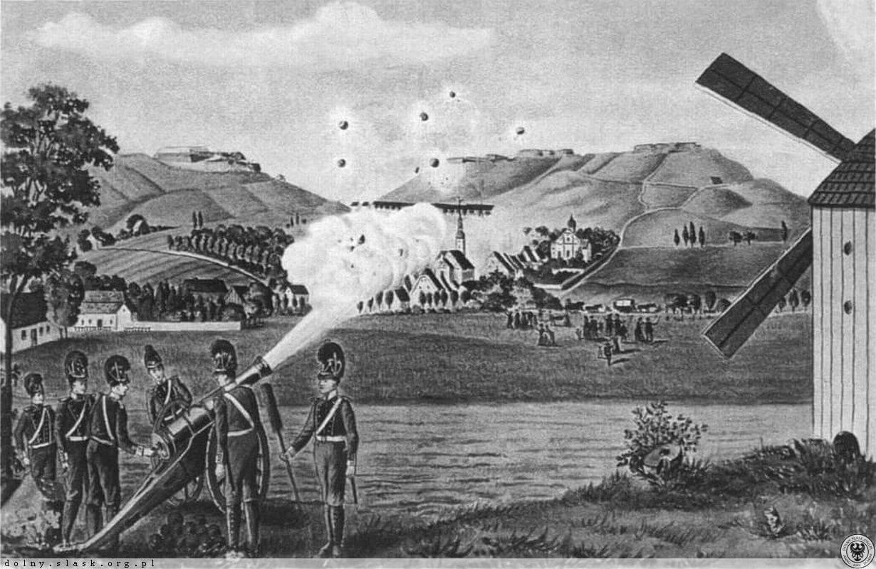 Oblężenie twierdzy Srebrna Góra