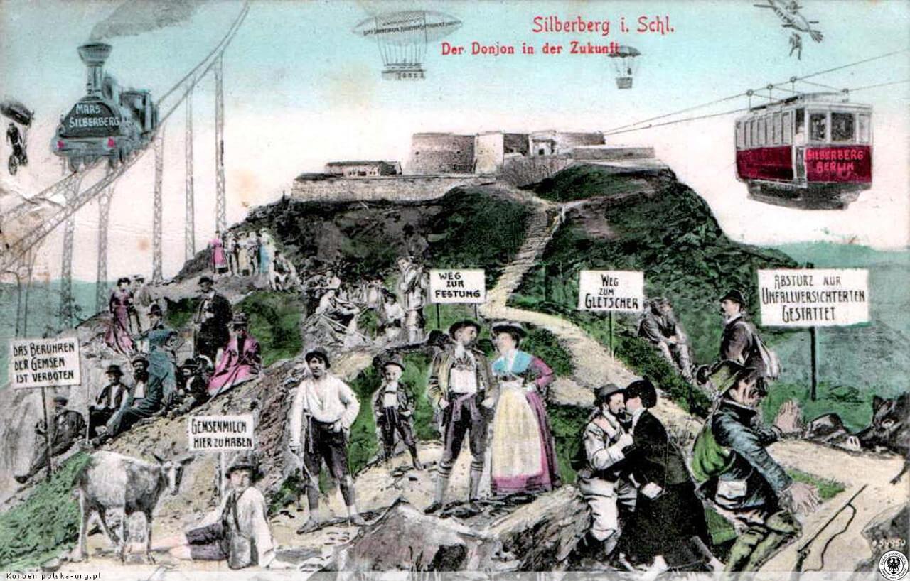 Wizja rozwoju twierdza srebrna góra