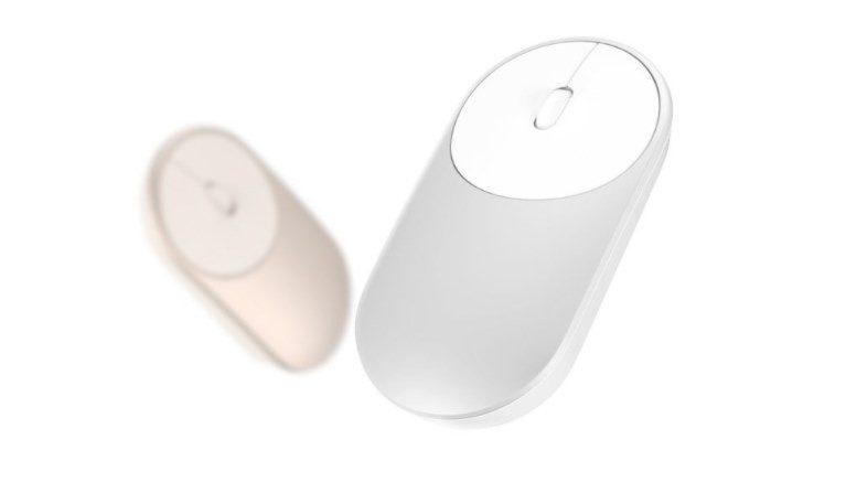 Mysz Xiaomi sprzęt w podróży elektronika