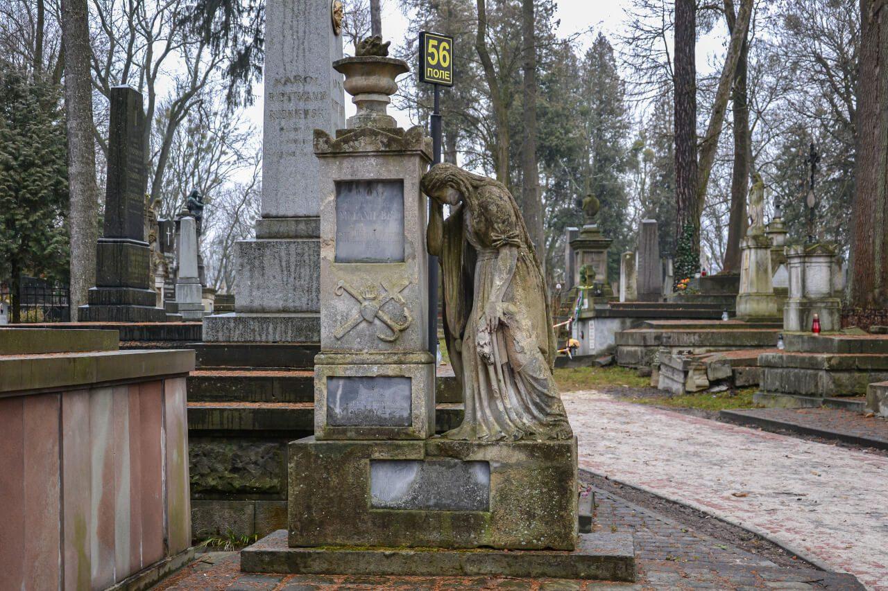 Rzeźby Cmentarz Łyczakowski