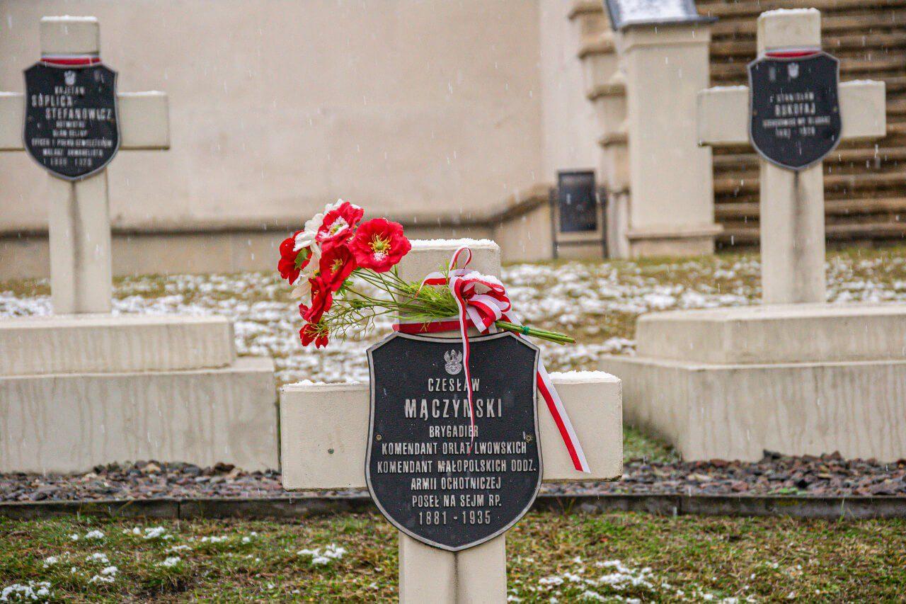 Cmentarz Orląt groby Lwów