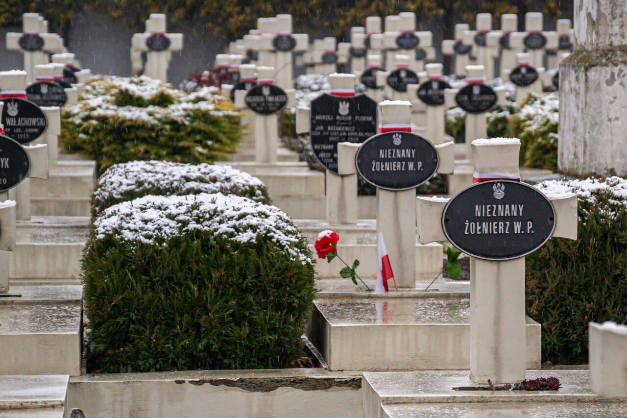 Groby polskie Lwów cmentarz obrońców Lwowa