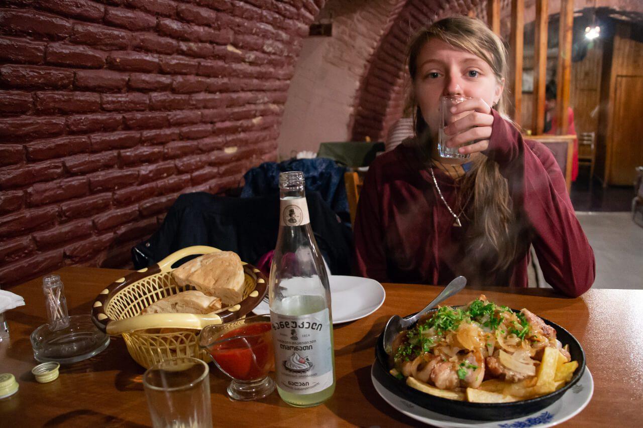 Restauracja Gruzja blog podróżniczy