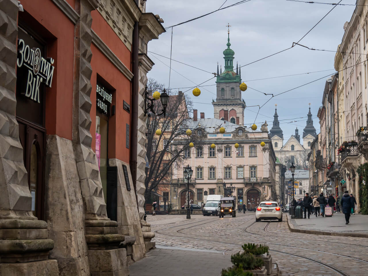 Pałac Lubomirskich Lwów UNESCO