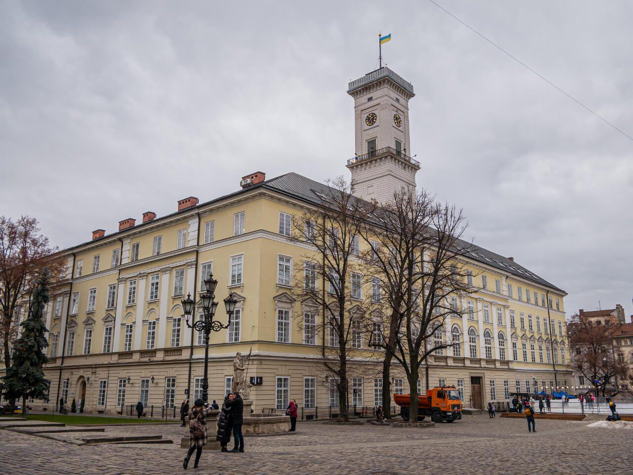 Ratusz Lwów blog podróżniczy