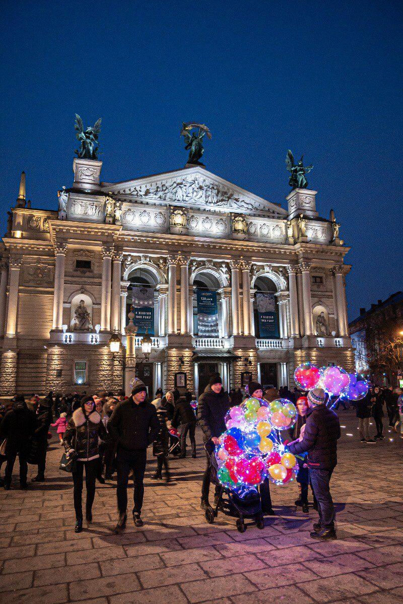 Gmach Opery Lwowskiej blog podróżniczy