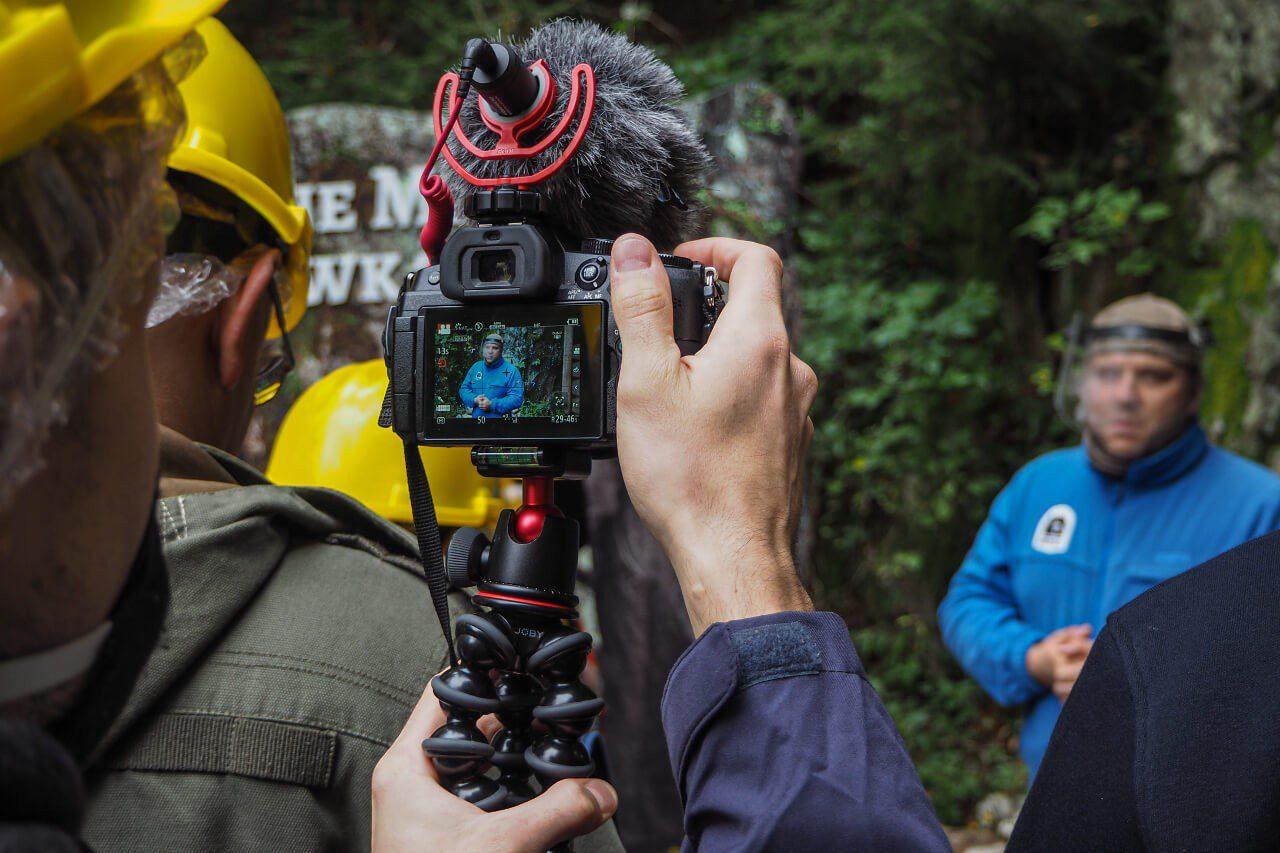 Sprzęt fotograficzny w podróży Panasonic G80 Joby Gorillapad 3K
