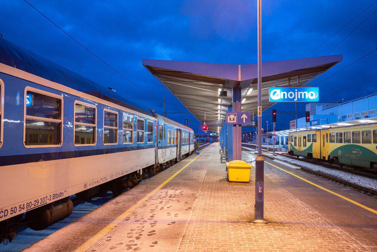 Znojmo dworzec kolejowy