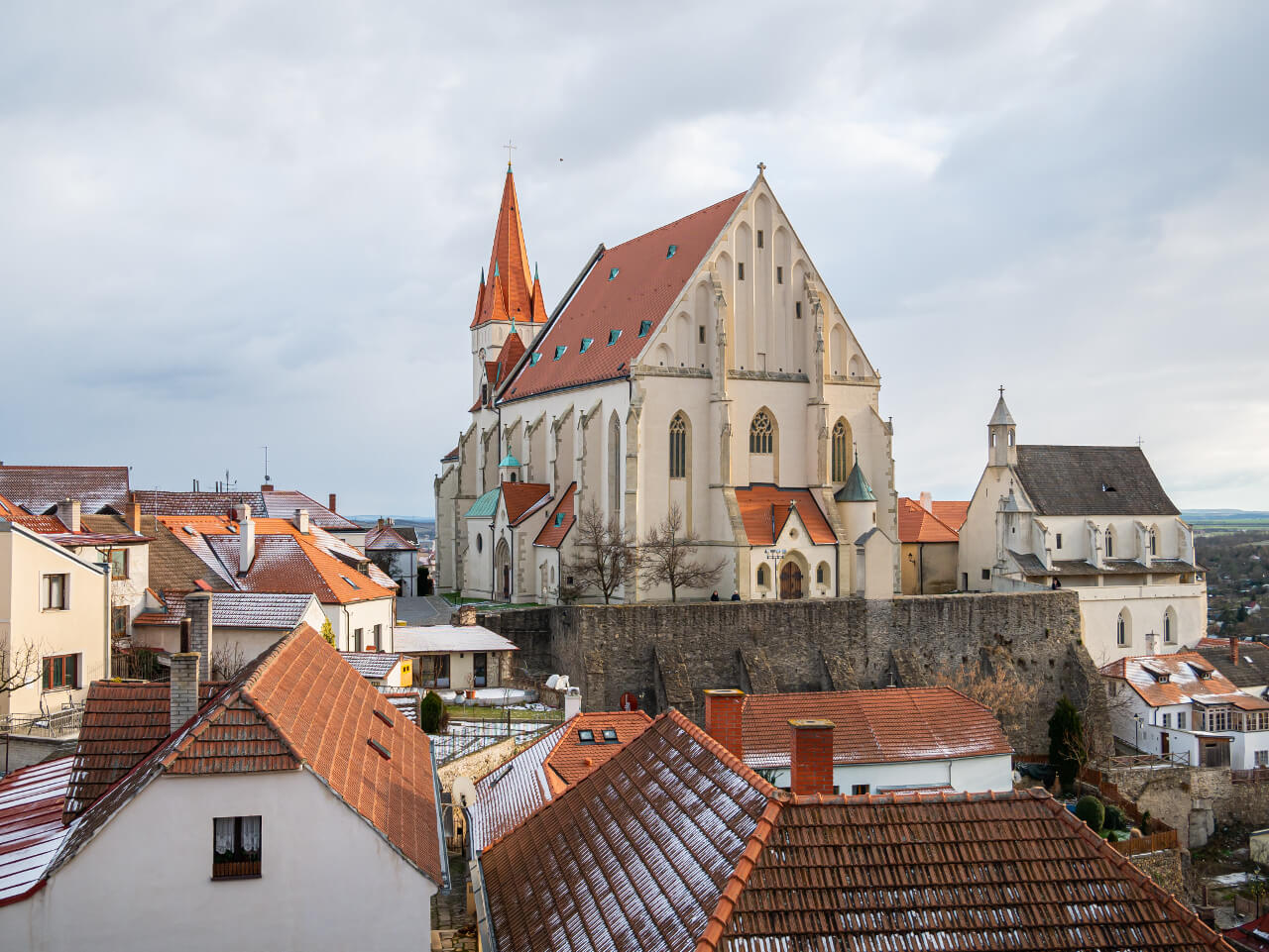 Kościół św. Mikołaja i kaplica św. Wacława Znojmo