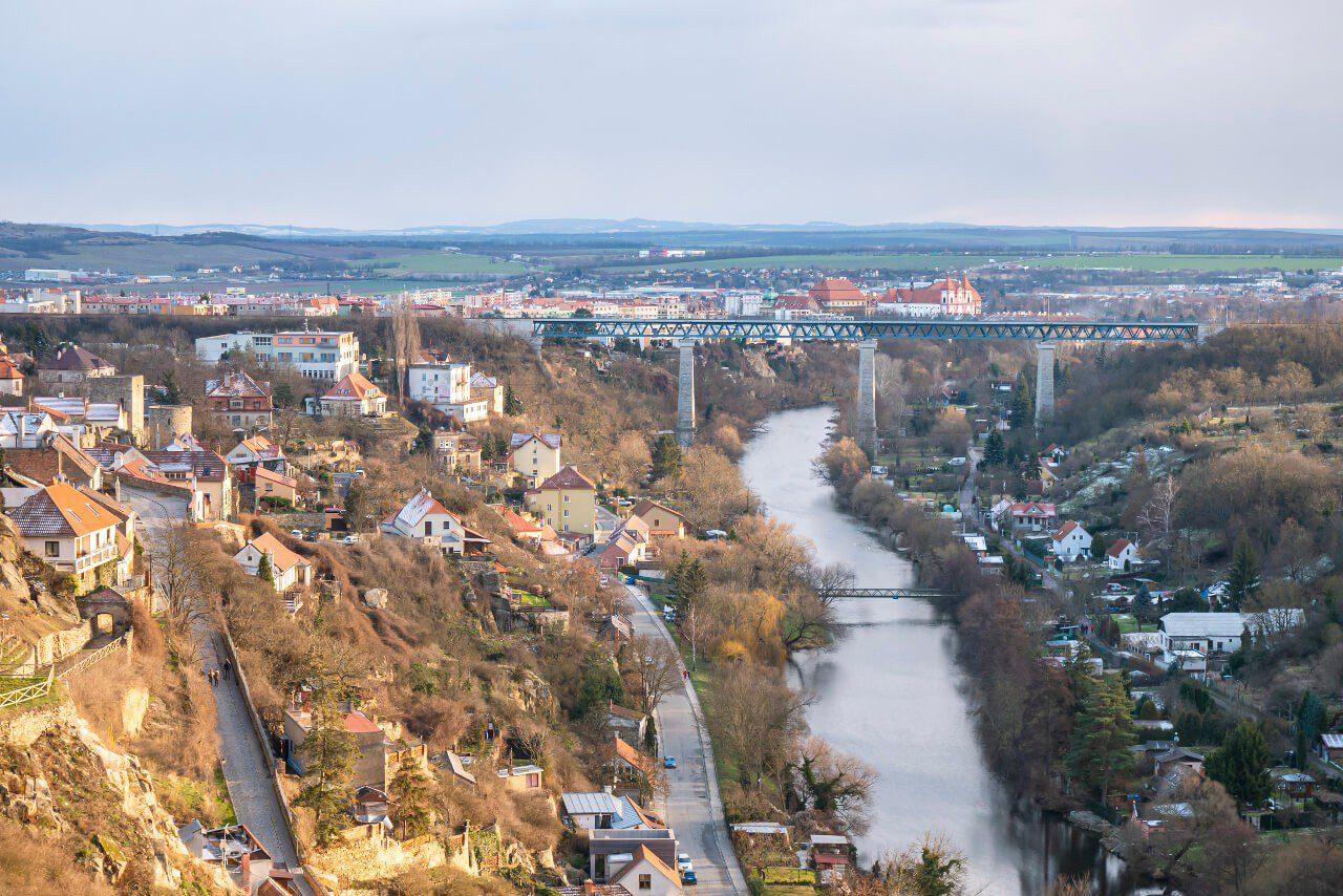 Most kolejowy Znojmo