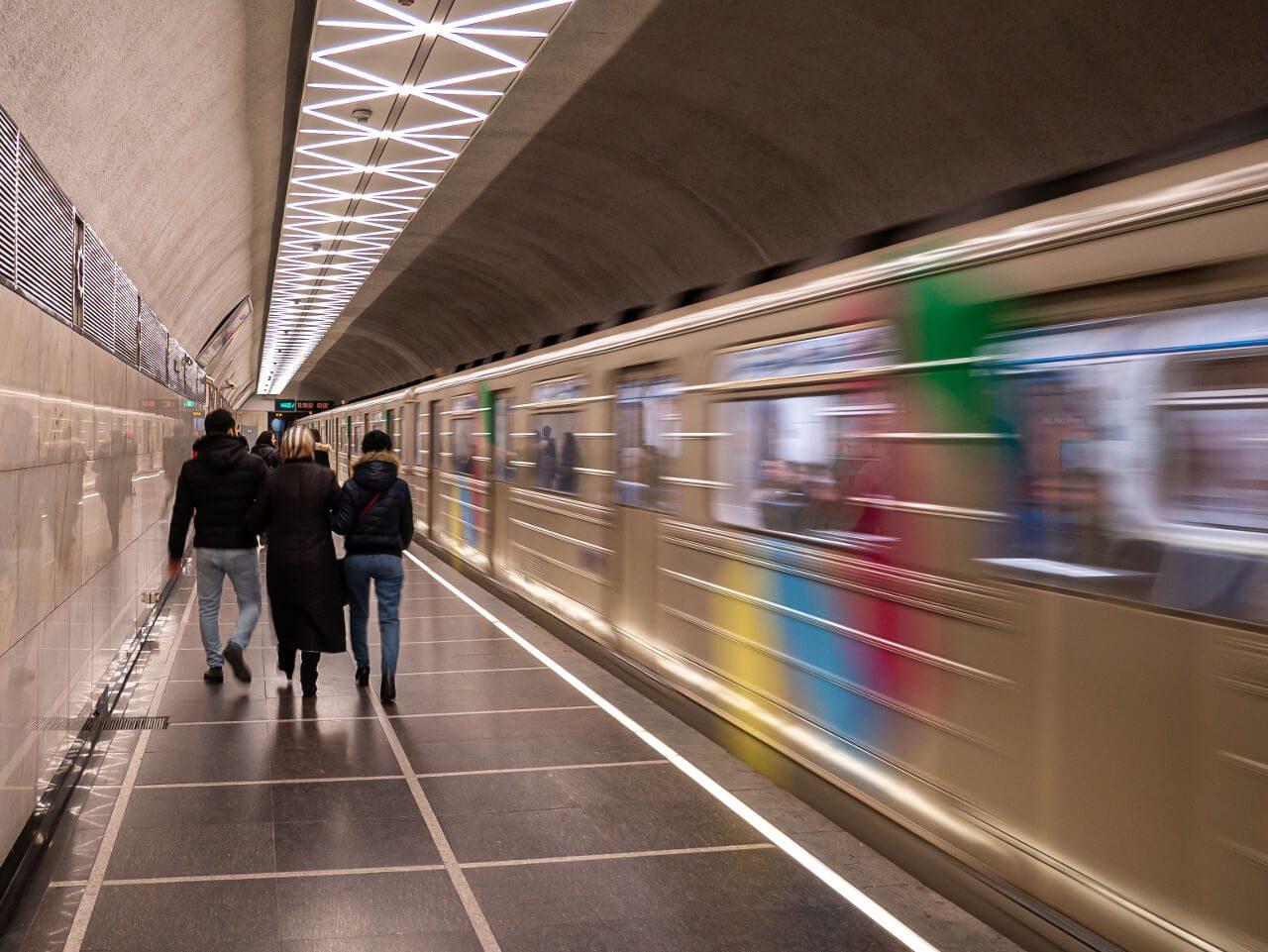 Stacja metra w Baku