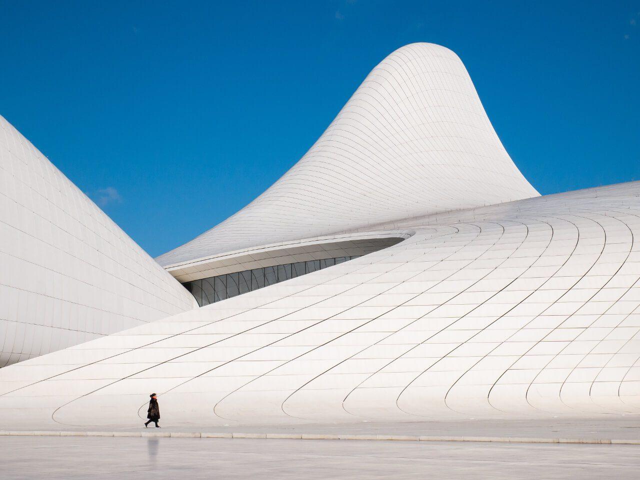 Centrum Heydara Aliyeva Baku co warto zobaczyć