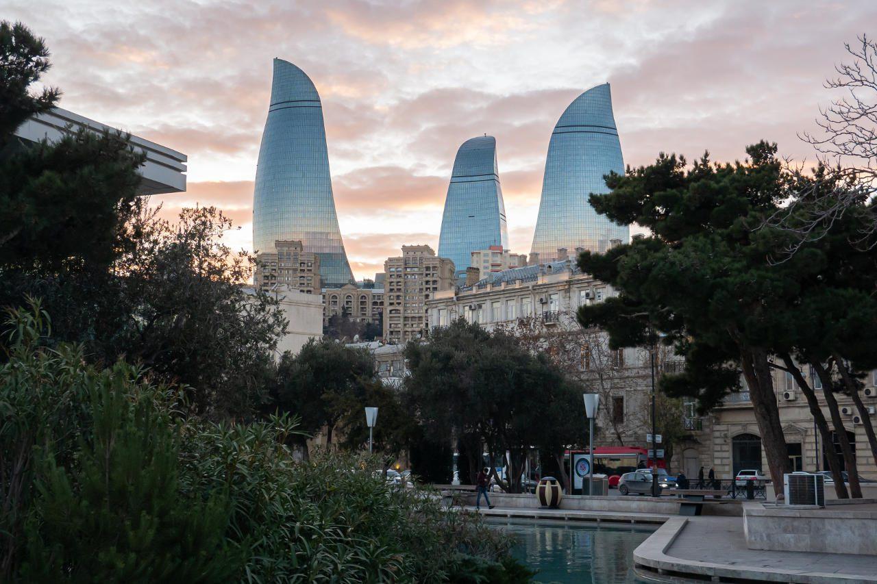 Ogniste Wieże Baku Azerbejdżan co warto zobaczyć