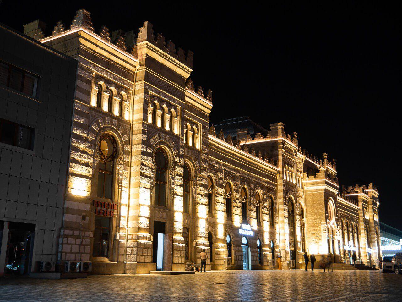 Dworzec kolejowy Baku