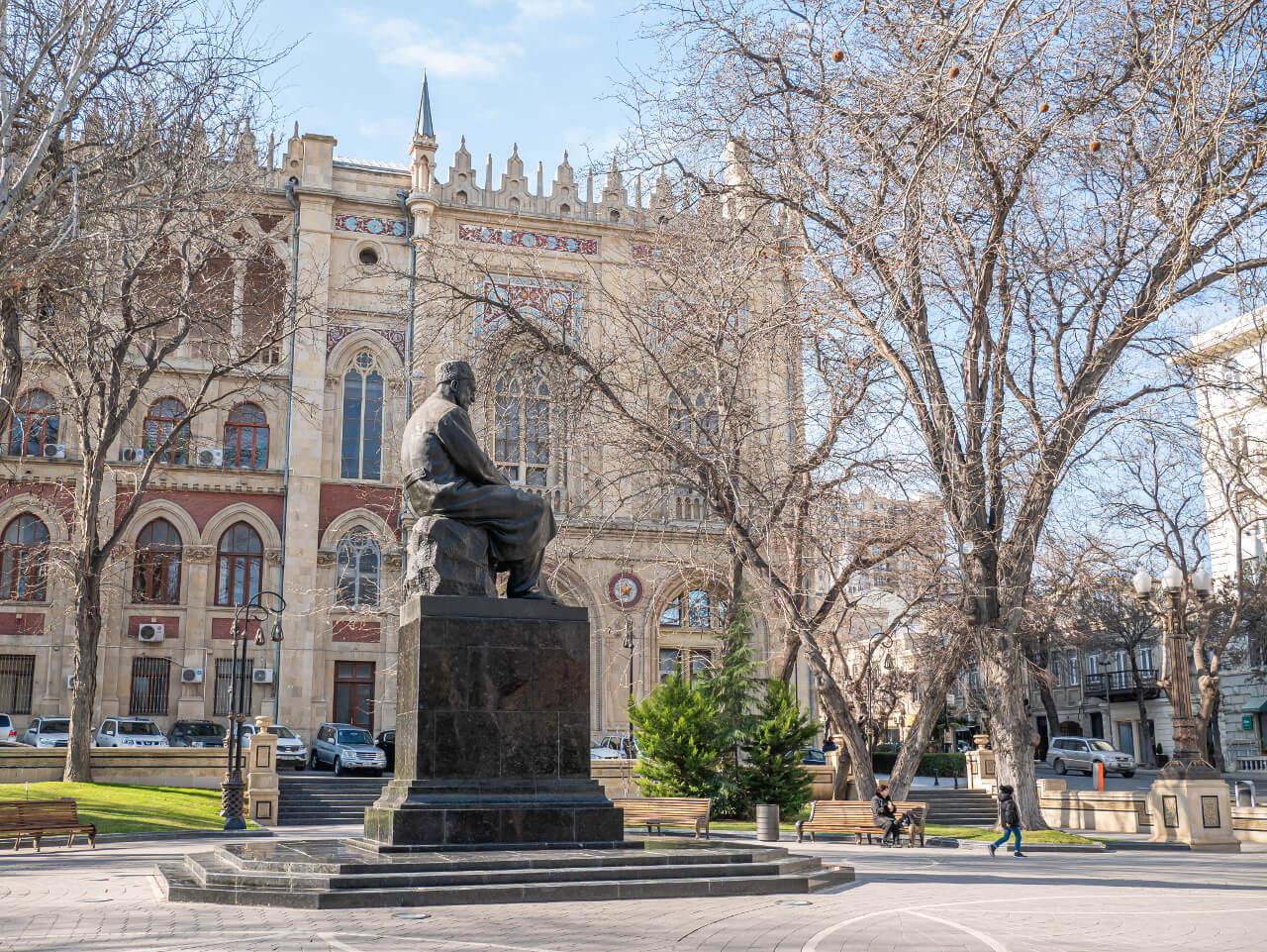 Park pałac Ismailiyya Baku co warto zobaczyc