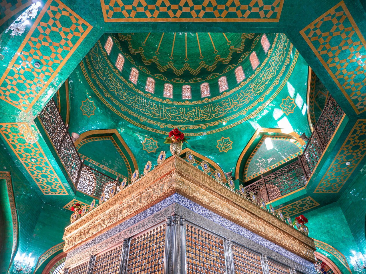 Grobowiec meczet Bibi Heybat Baku Azerbejdżan