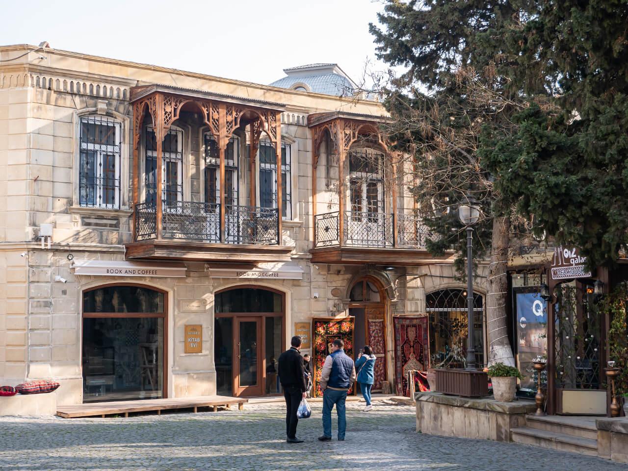 Baku Wewnętrzne Miasto blog podróżniczy