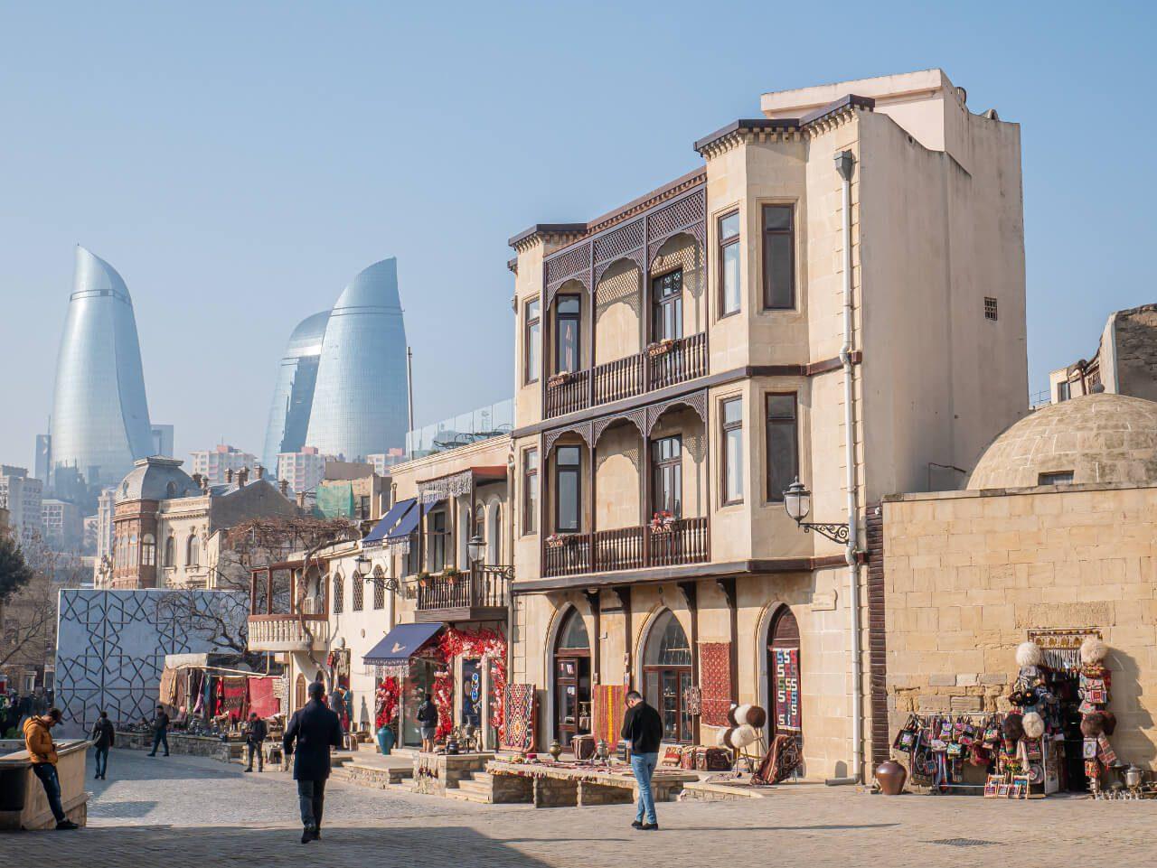 Stare Miasto Baku Azerbejdżan