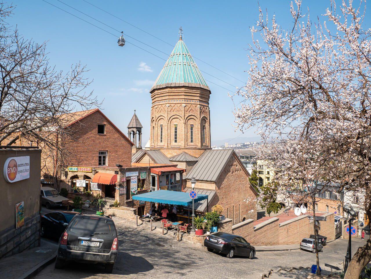Stare Miasto w Tbilisi Gruzja