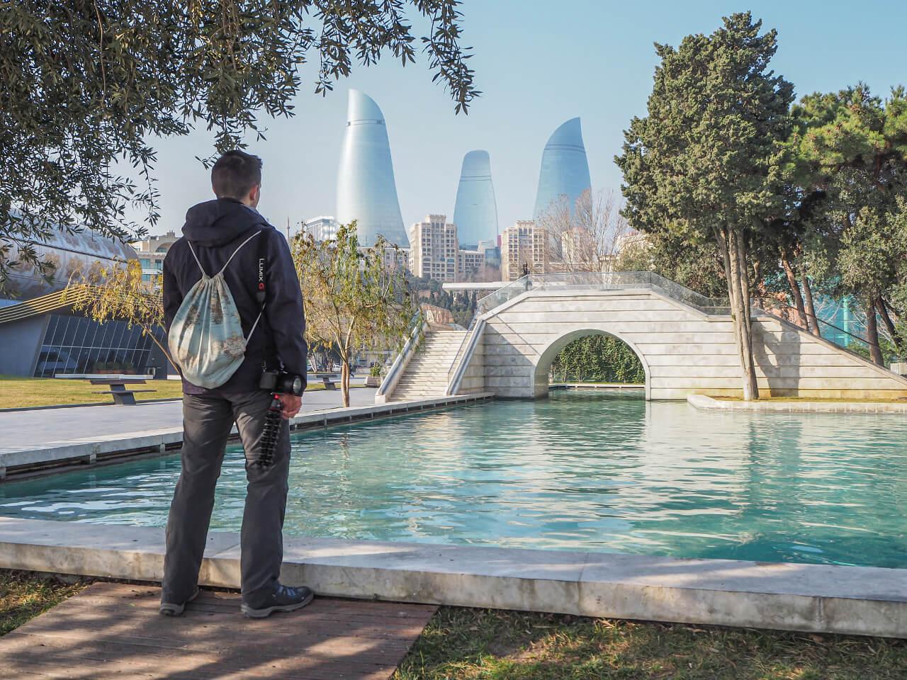 Mała Wenecja Baku Azerbejdżan