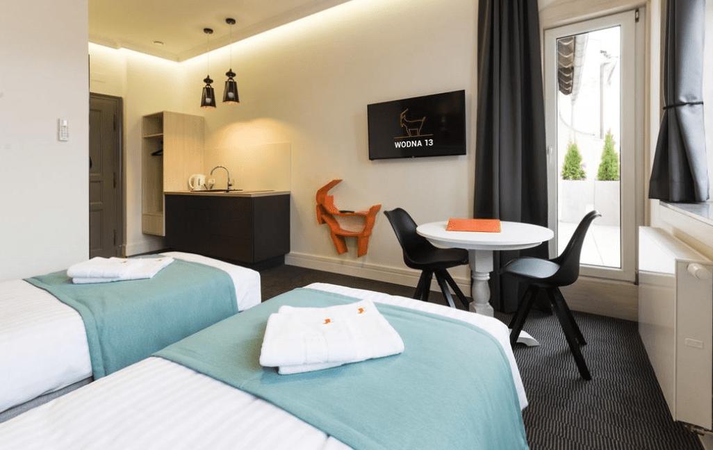 Poznań gdzie spać noclegi Apartamenty Wodna 13