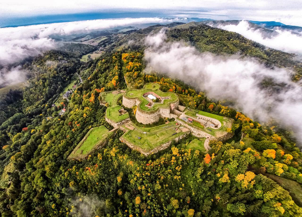 Srebrna Góra twierdza góry sowie blog podróżniczy