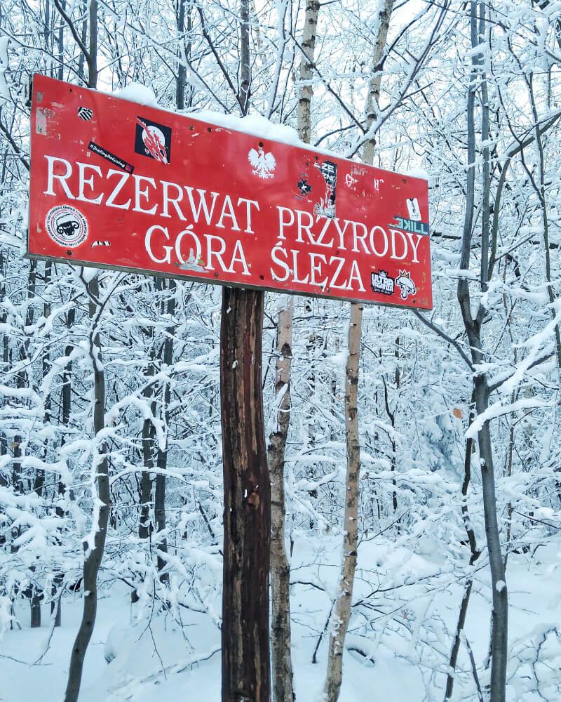 Ślęża góry Dolny Śląsk gdzie jechać rezerwat