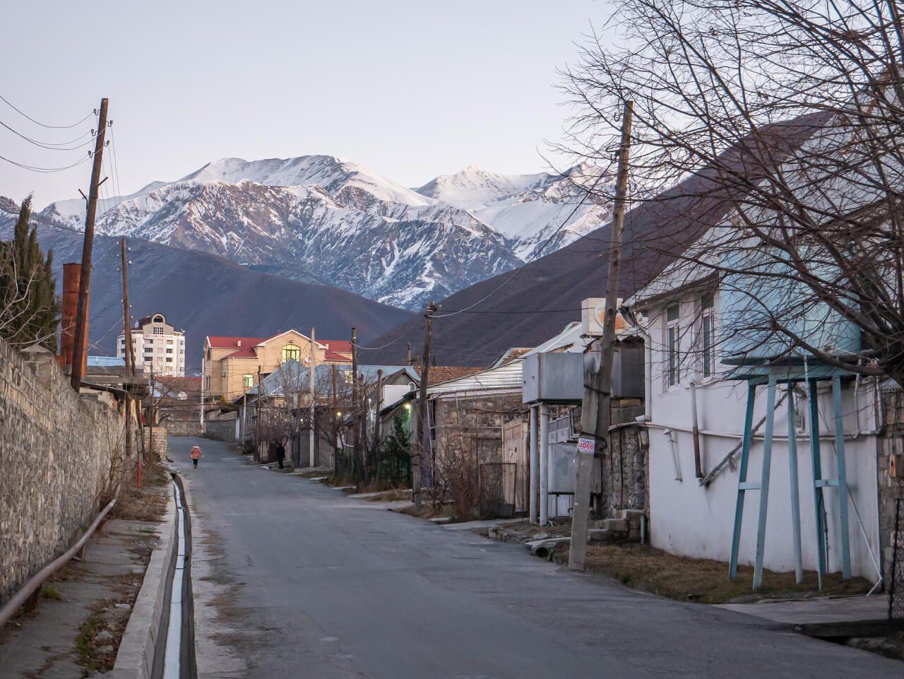 Sheki Ulica Azerbejdżan