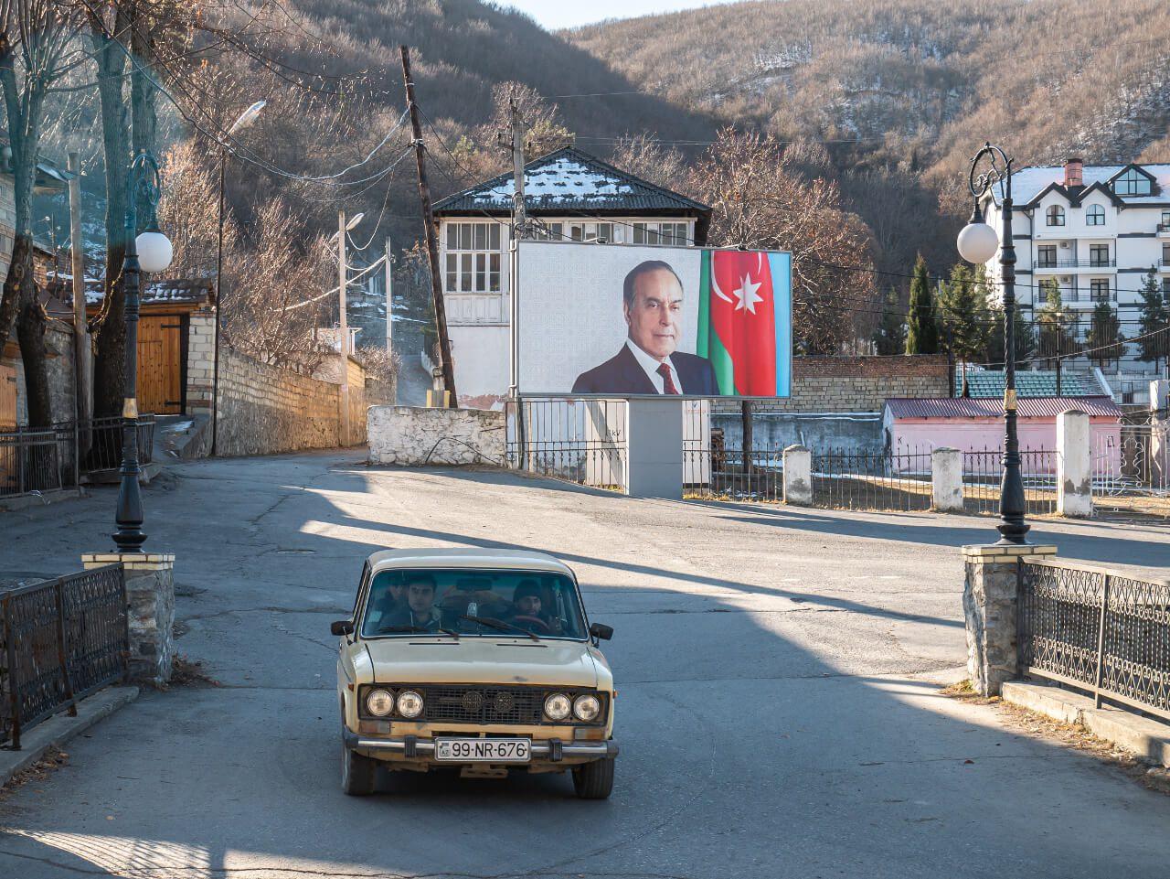 Heydar Aliyev Azerbejdżan ulica