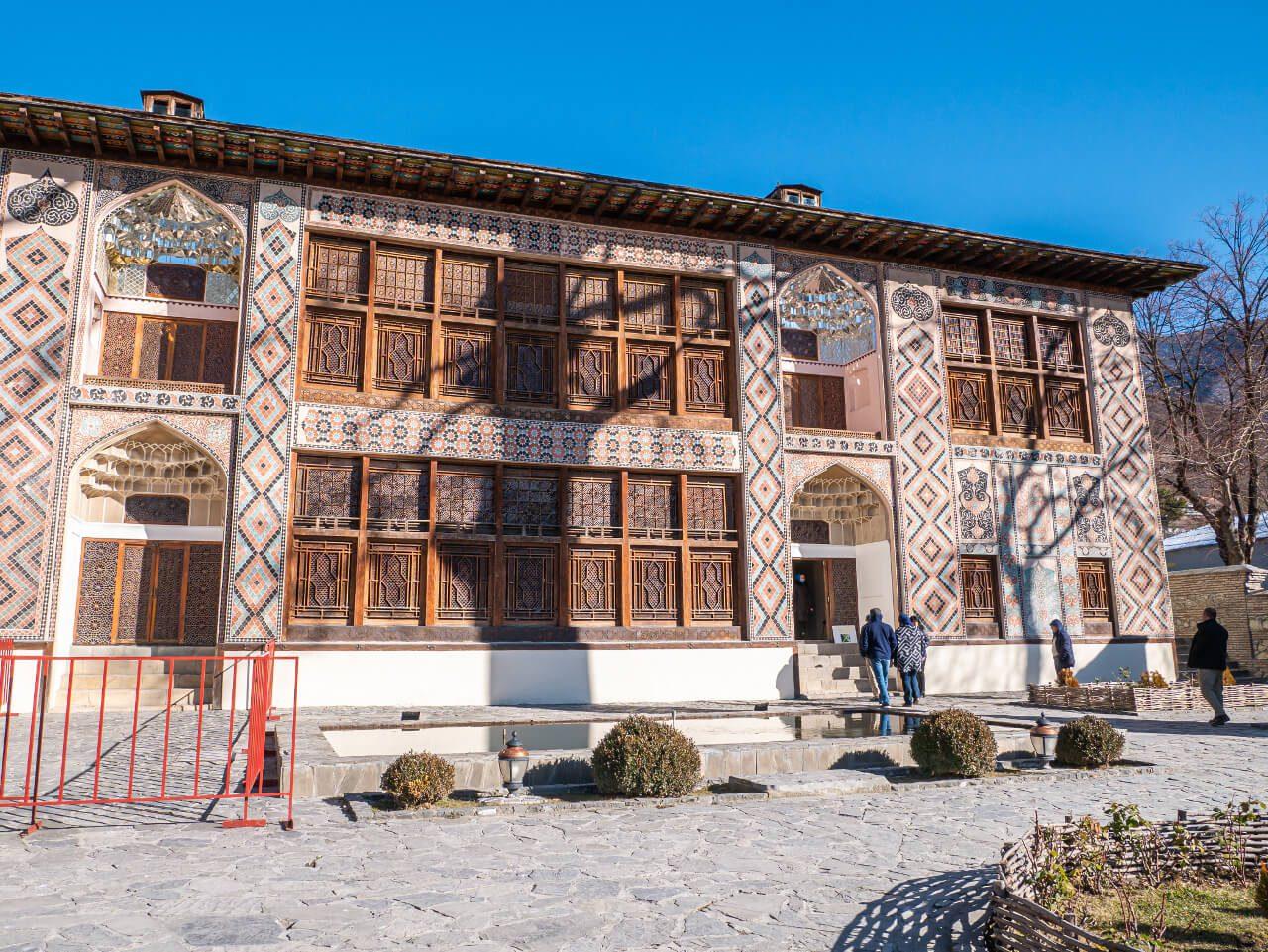Pałac Chanów Szeki Azerbejdżan co warto zobaczyć