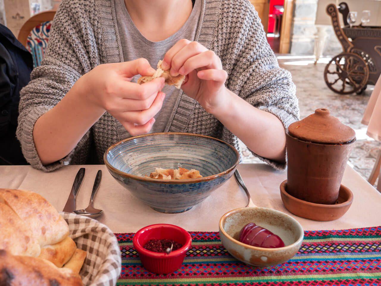 Jedzenie restauracja azerbejdżan co warto zobaczyć