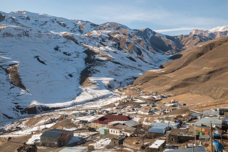 Azerbejdżan co warto zobaczyć Xinaliq atrakcje blog podróżniczy