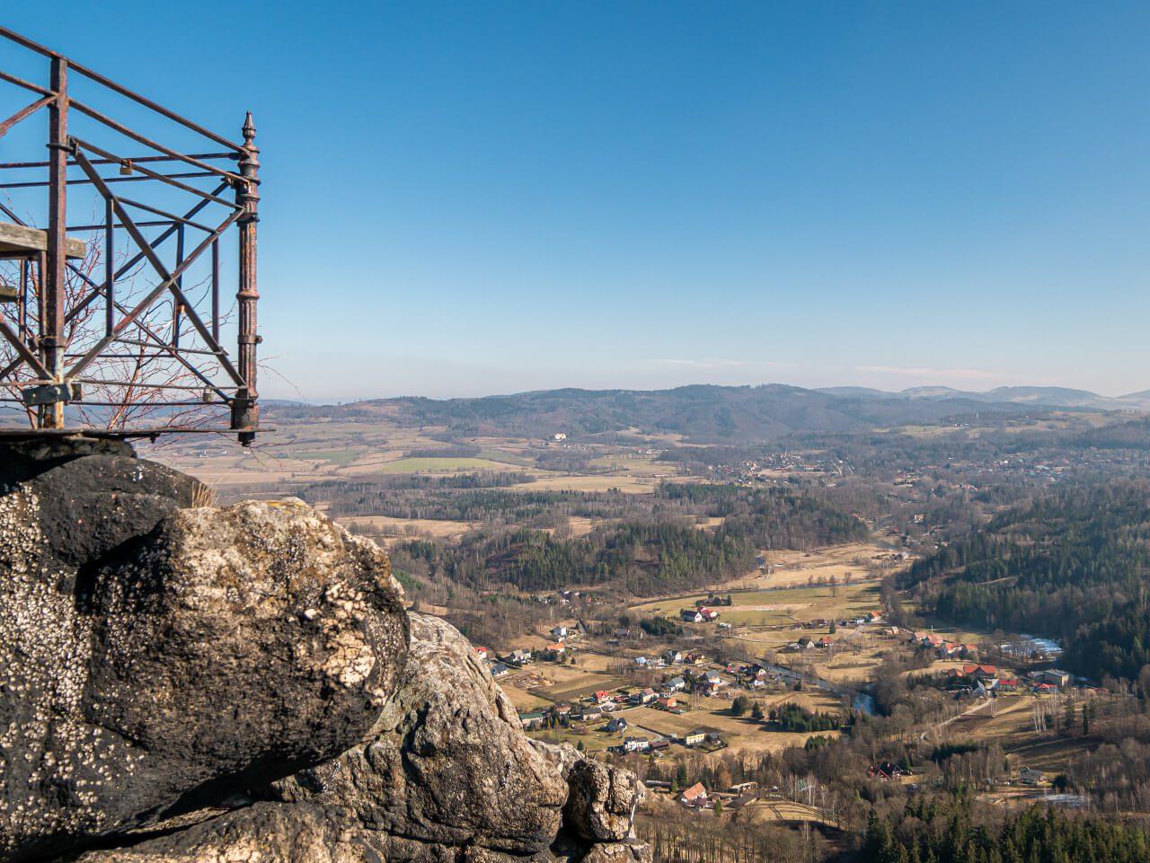 Sokolik punkt widokowy Rudawy Janowickie co warto zobaczyć