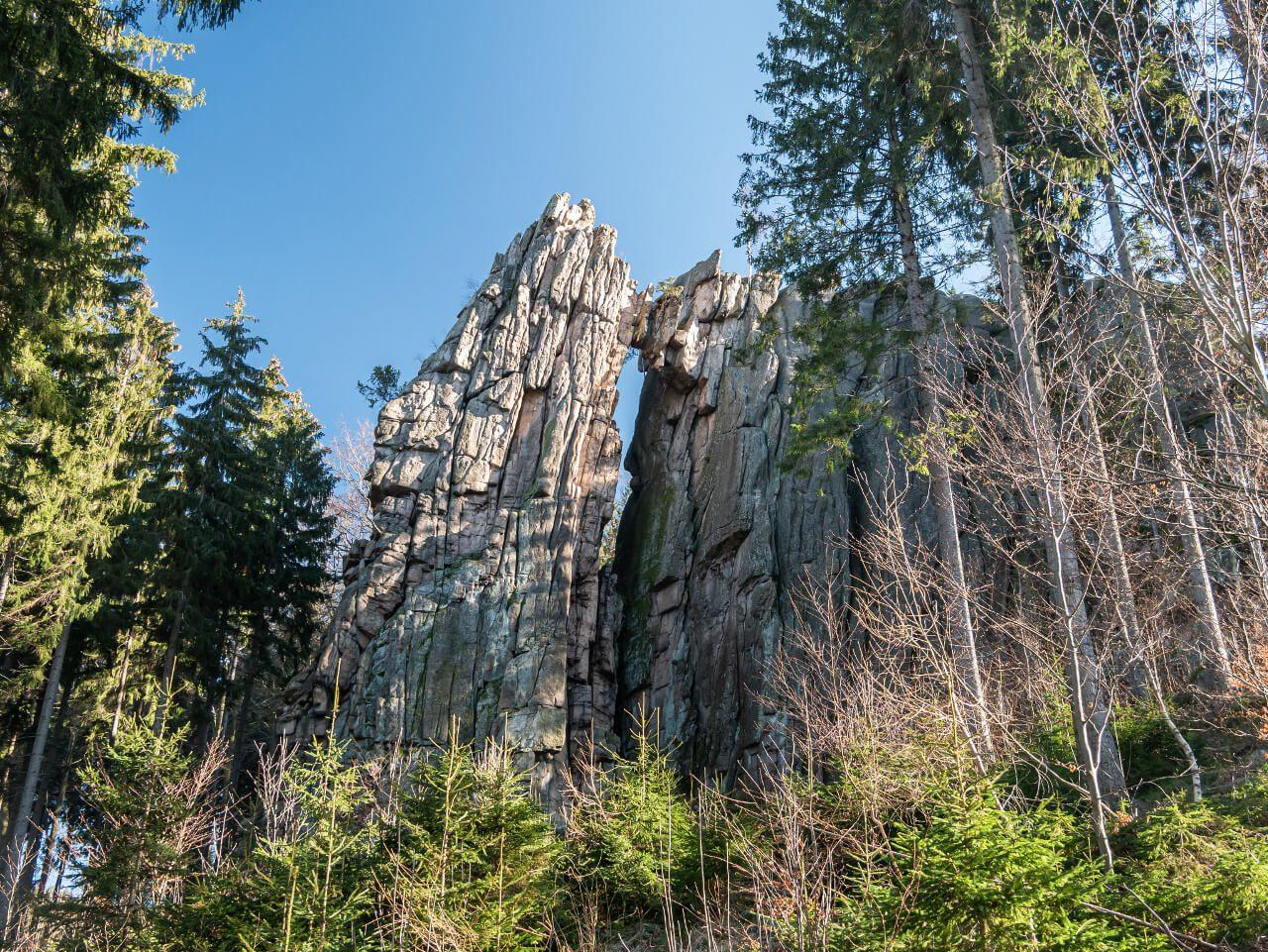 Skalny Most Rudawy Janowickie góry Dolny Śląsk blog podróżniczy