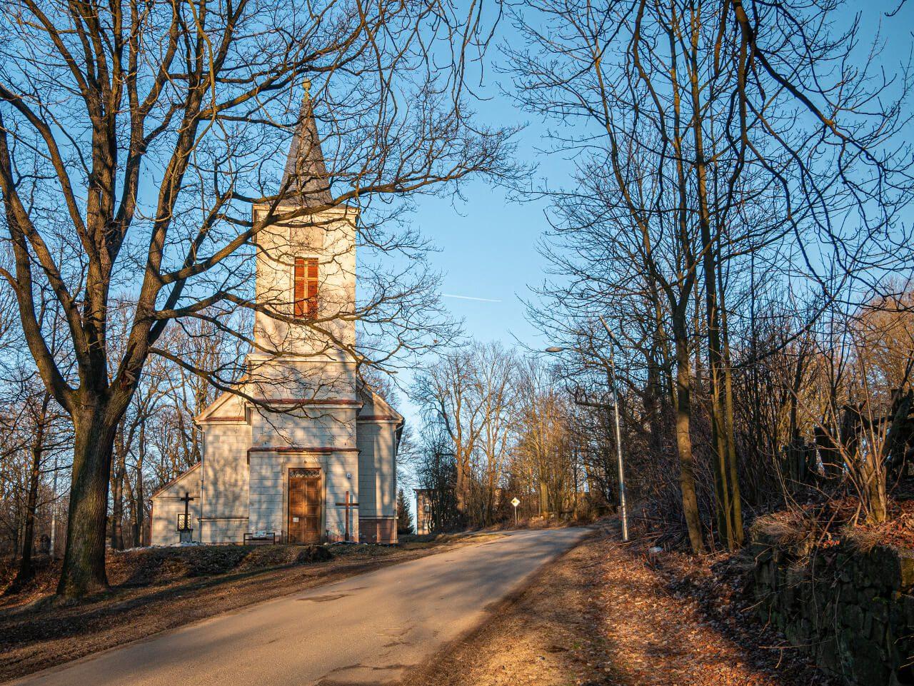 Kościół Miedzianka Rudawy Janowickie