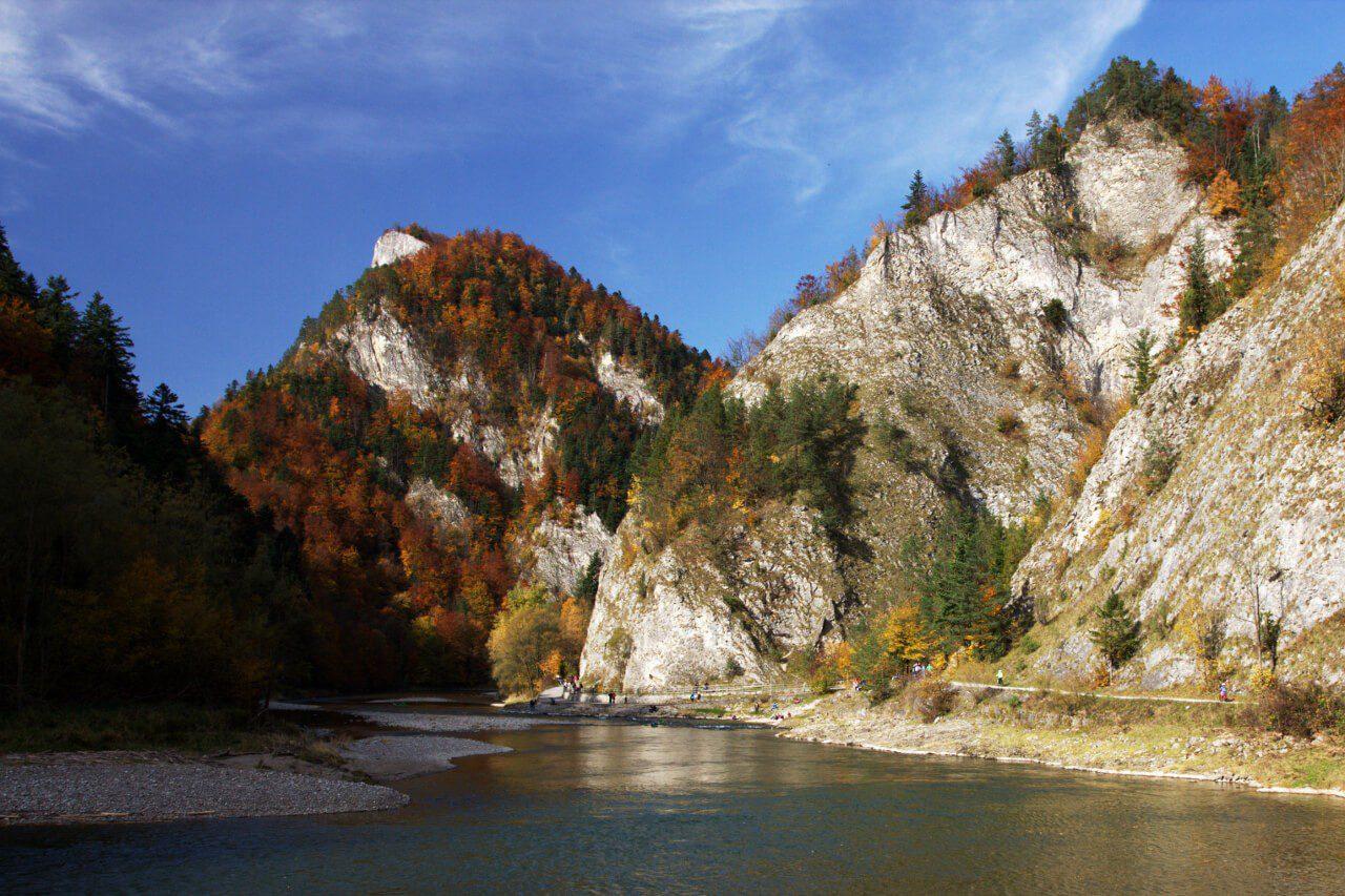 Pieniny gdzie w góry weekend Dunajec
