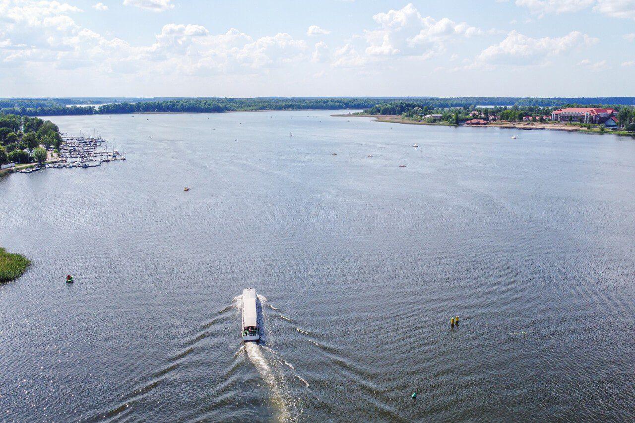 Jezioro Drwęckie Ostróda Mazury Zachodnie