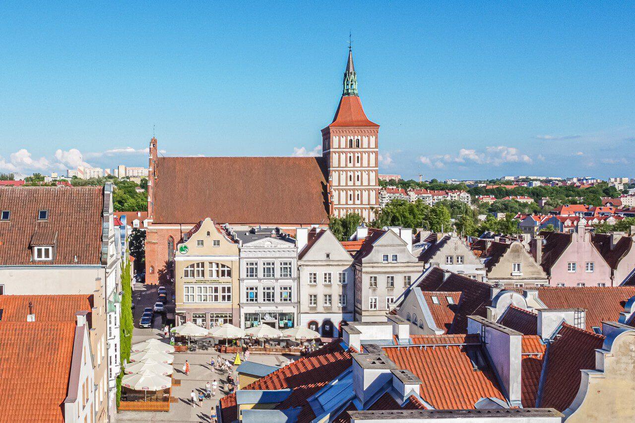 Bazylika konkatedralna Olsztyn atrakcje