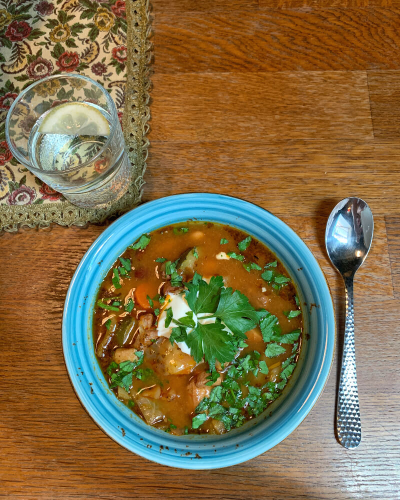 Karmuszka zupa warmińska