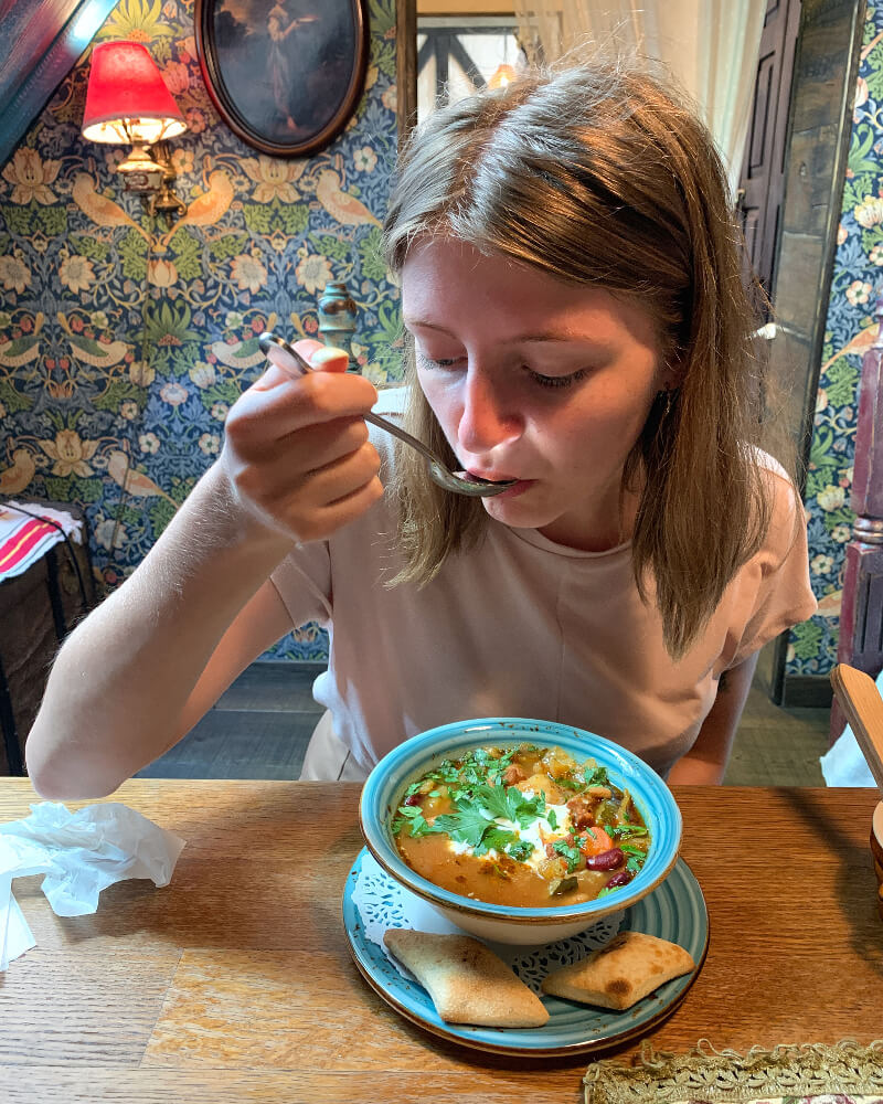 Zupa karmuszka cudne manowce Olsztyn