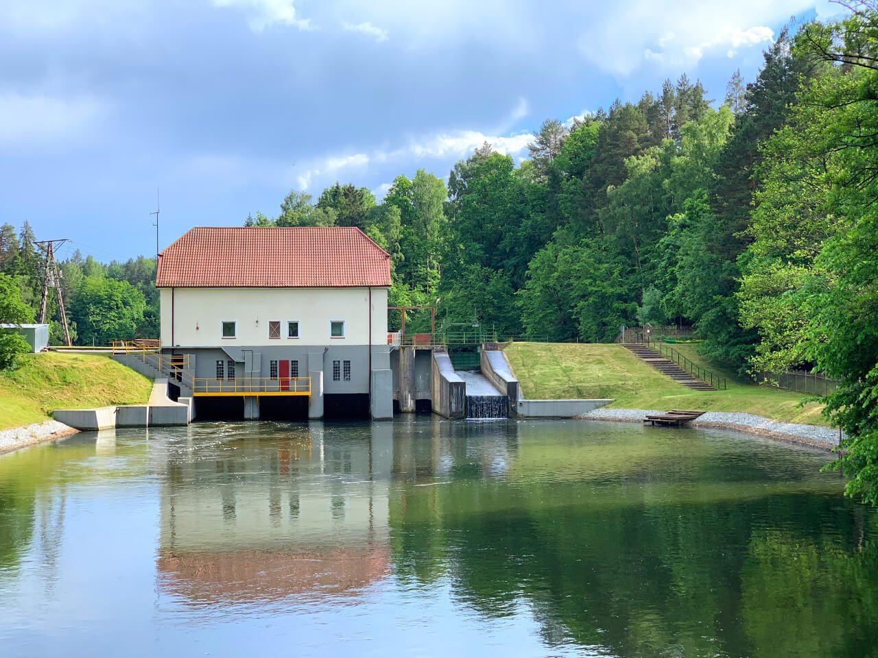 Elektrownia wodna Łyna Olsztyn